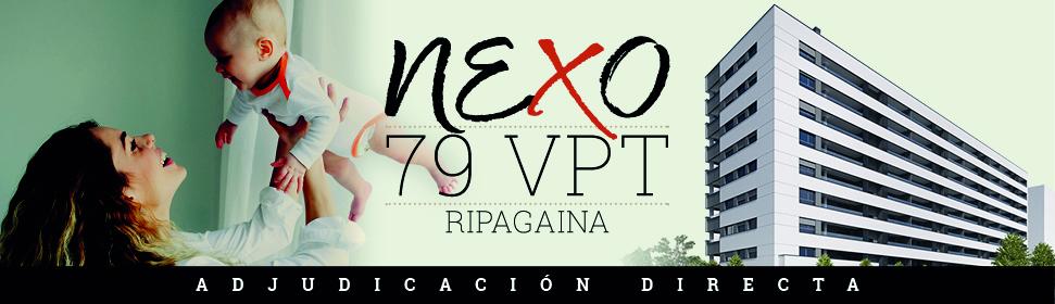 Vivienda protegida subvencionada. 79 VPT en Ripagaina