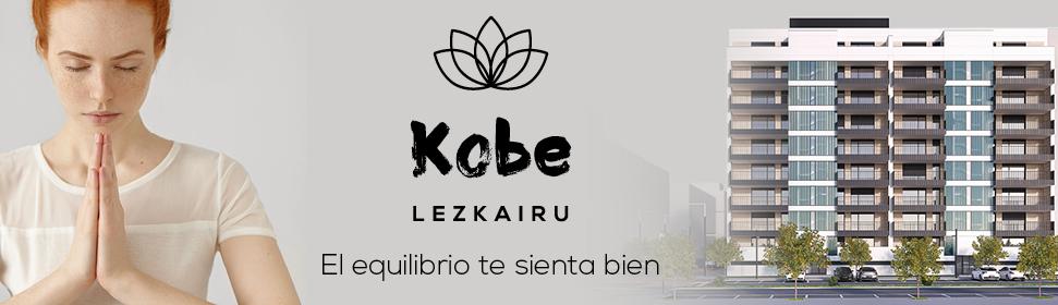 Kobe Lezkairu, viviendas de 2 y 3 dormitorios en Lezkairu