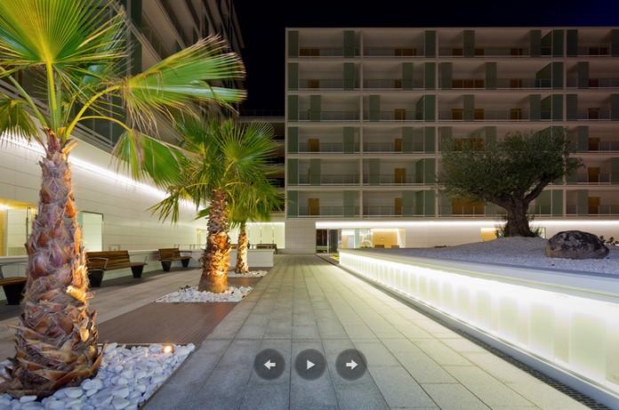 Abaigar ALS Iluminacion nocturna patio 2
