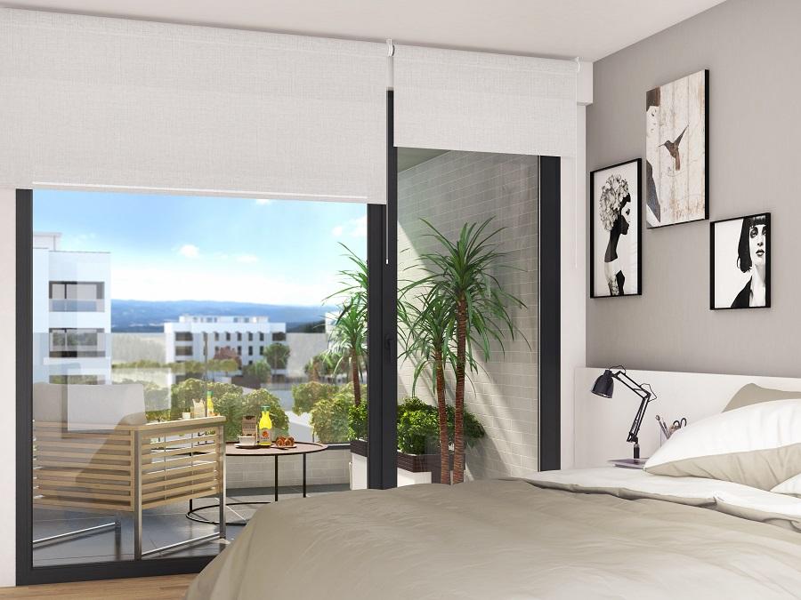 Abaigar Pinar de Ardoi 2 terraza dormitorio