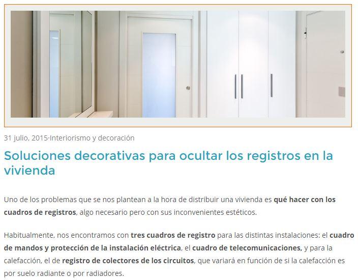 Abaigar soluciones decorativas registro de la vivienda
