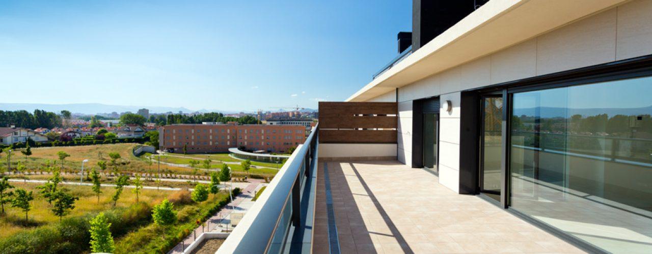 Detalle real terraza atico max living