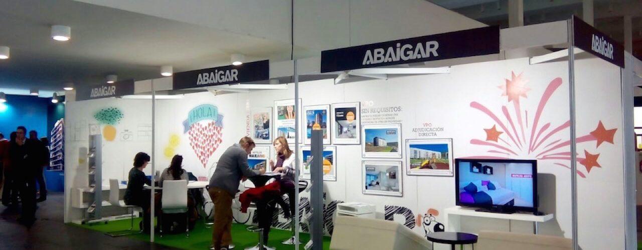 Stand de Abaigar en II salon inmobiliario pamplona 2015