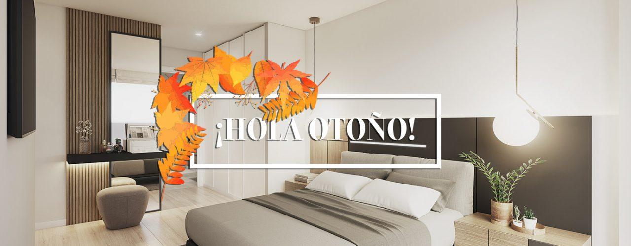 decoracion dormitorio otono